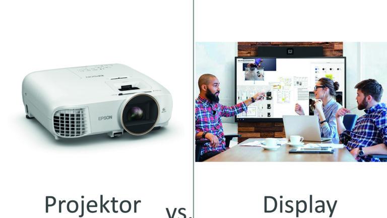 Meetingraum Ratgeber – Projektor oder Display?