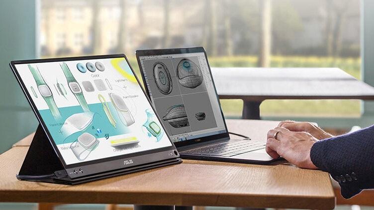 Asus Monitor für das Notebook