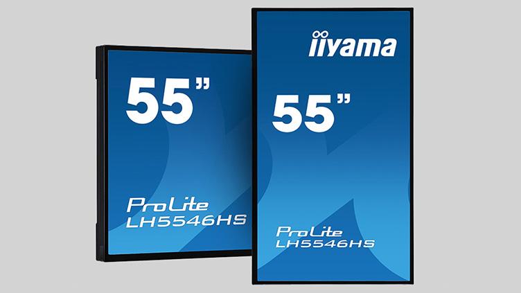 Iiyama präsentiert seine neue LFD-Serie 46