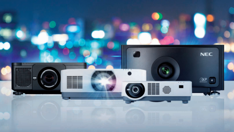 Laserprojektion mit NEC