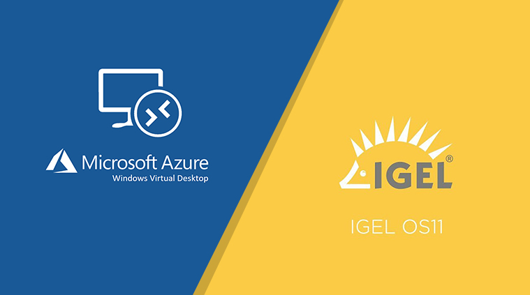 Azure WVD & IGEL OS 11.3.500