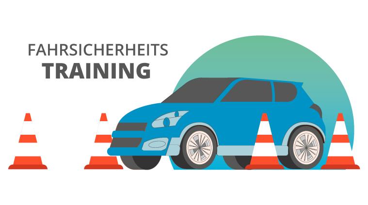 Fahrsicherheitstraining für unsere Mitarbeiter in Gescher