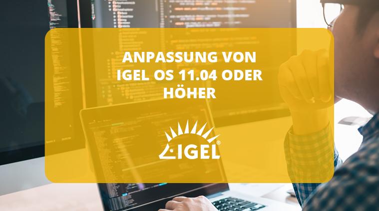 IGEL OS 11.04: Funktionsumfangreduzierung für Thin Clients