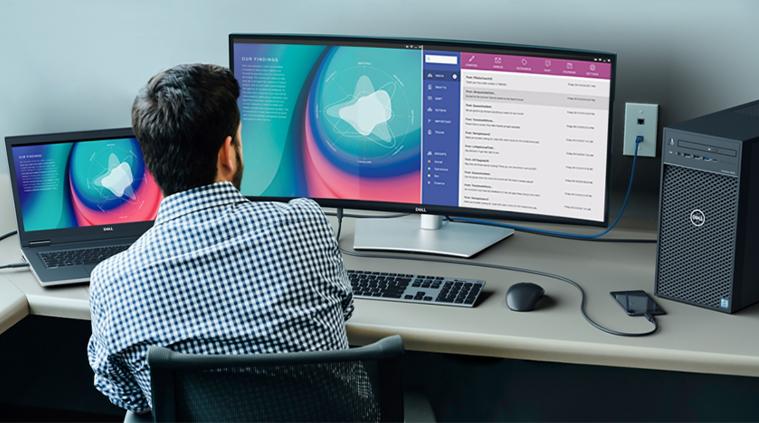 Dell U3421WE Monitor
