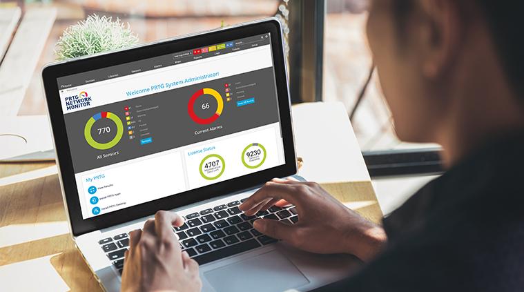 Monitoring-Software PRTG – Netzwerküberwachung All-In-One
