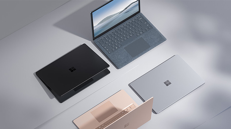 Varianten des Microsoft Surface Laptop 4