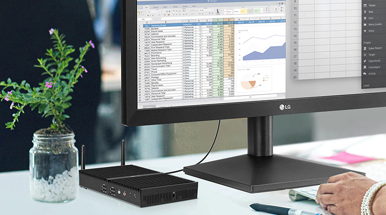 LG Thin Client Multi-Monitor-Einrichtung